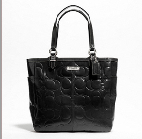 The brand new Coach Handbag that I purchased for $97. Photo courtesy Coach Factory Outlet